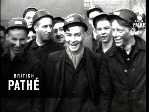 Coal Mining Trainees Report And British Coal In Italy (1944)