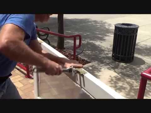 how to fix a sagging exterior door