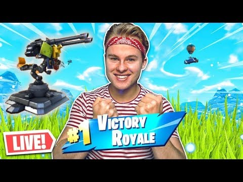 *NEW* MOUNTED TURRET IN FORTNITE LIVE!! - Royalistiq Fortnite Livestream (Nederlands) thumbnail