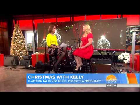 Kelly Clarkson Interview Today Show Tuesday Nov. 26, 2013