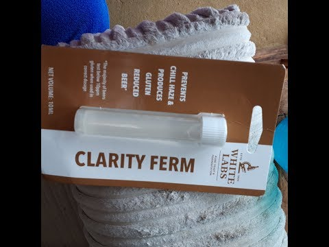 How to turn beer gluten free using Clarity Ferm