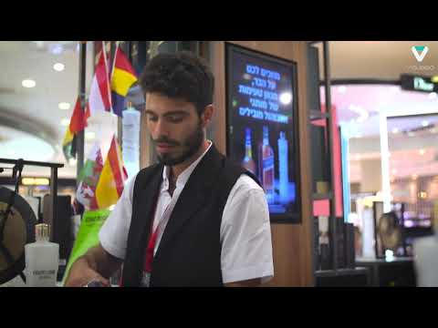 James Richardson Duty Free - Israel International Airport - Installed By Visualed