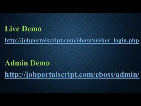 Online Freelance Jobs Script   Job Board Software   Online Jobs Script