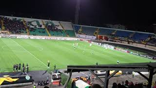 Ворскла Спортинг Л 1:2 Гол Монтеро Vorskla Sporting CP Goal Montero