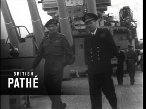 Monty Visits The Home Fleet (1944)