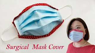 How to Make Surgical Face Mask Cover Fast Easy More Protection Capa de máscara facial PDF