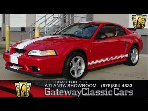 1999 Ford Mustang Cobra SVT - Gateway Classic Cars Atlanta - #998