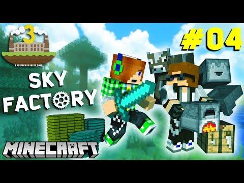 Minecraft: KHỞI ĐẦU CÔNG NGHỆ VŨ KHÍ | Sky Factory 3 w/ Dương FG [4]
