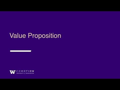 Fundamentals for Startups: Value Proposition and IP 101