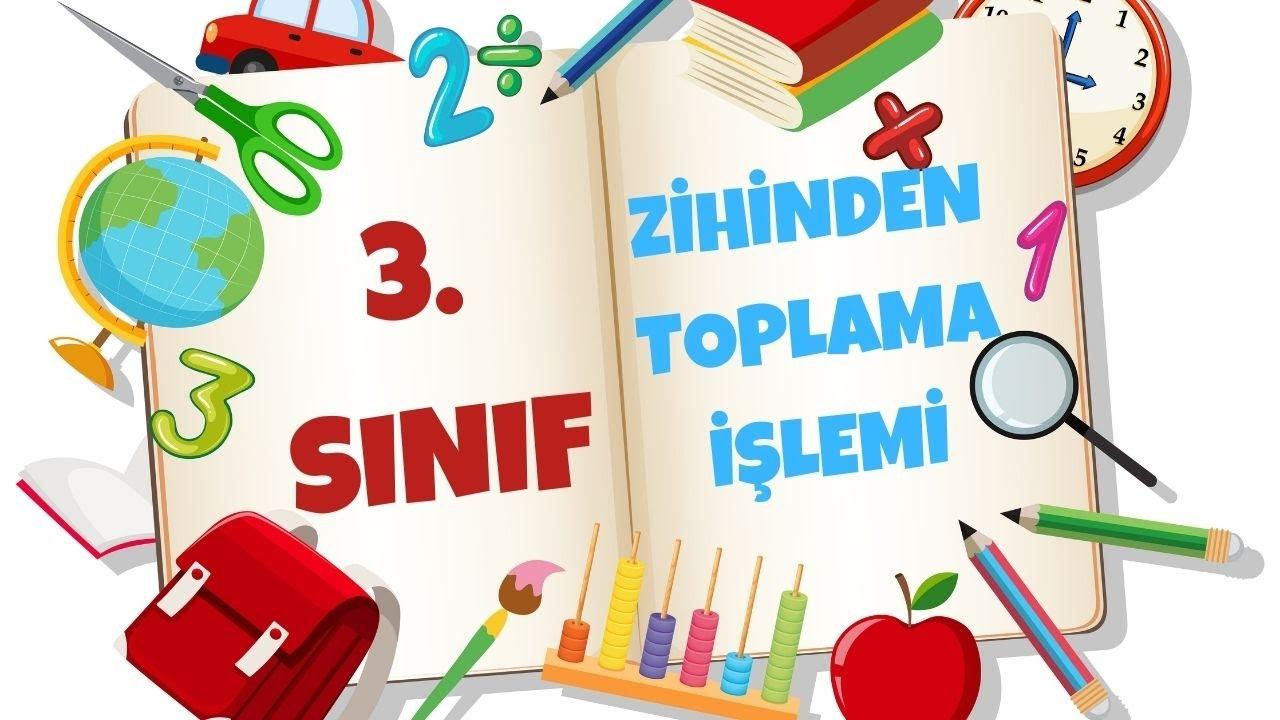 3.Sınıf Matematik -Verilmeyenli toplama İşlemi !!-Yardımcı Öğretmen