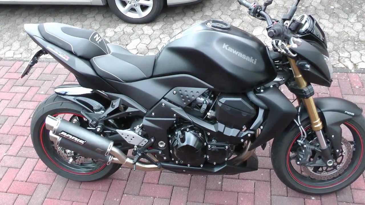 Kawasaki Z 750R Mit Bodis Auspuff Und ABM Lenker