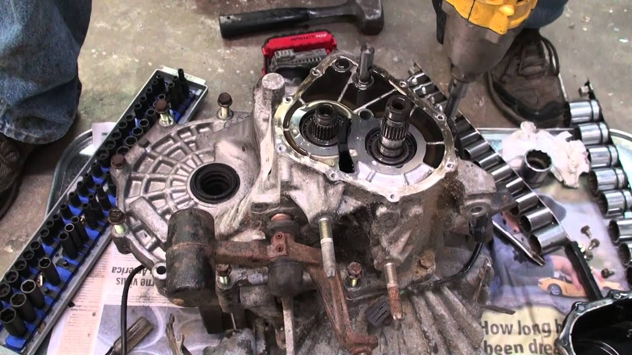 Mazda Manual Transmission Tear Down