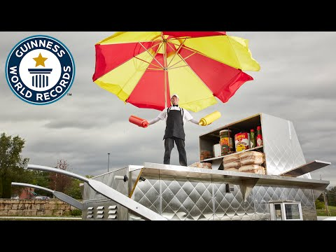 Largest Hot Dog Cart - Guinness World Records