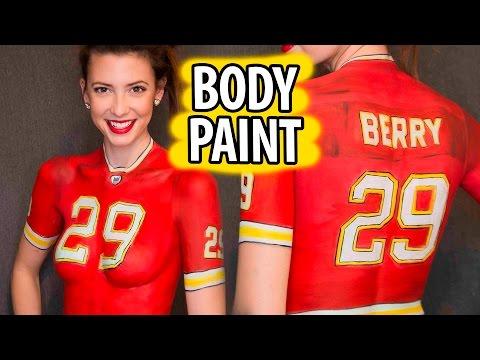 Jersey Body Paint Tutorial