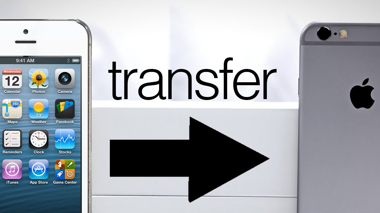 New iphone how to transfer all data