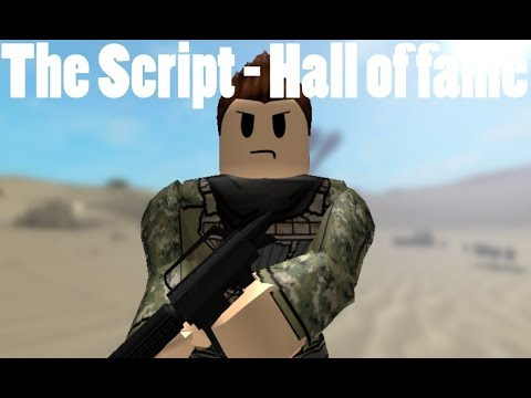 The Script - Hall of fame (ROBLOX MUSIC VIDEO) - Part 1