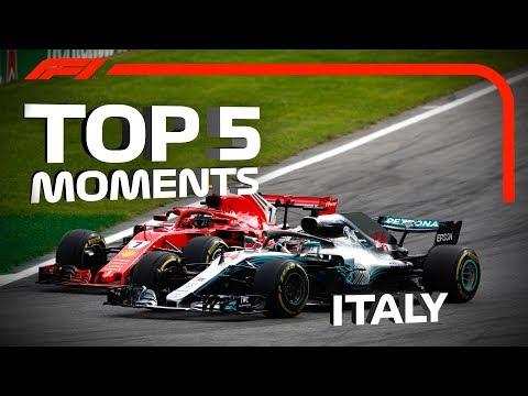 Top 5 Moments | 2018 Italian Grand Prix