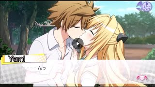 "To Love Ru Darkness True Princess Mi Beso ""Feliz"" Con Yami-chan Sub Español"