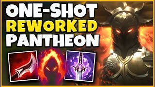 *INVINCIBILITY* REWORKED PANTHEON IS ACTUALLY INSANE (RIOT BROKE HIM) - League of Legends