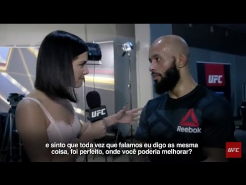 UFC Kansas: Entrevista de backstage com Demetrious Johnson