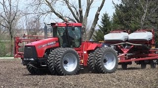 Case IH Steiger 335 Tractor - Hagemann Farms on 4-26-2014