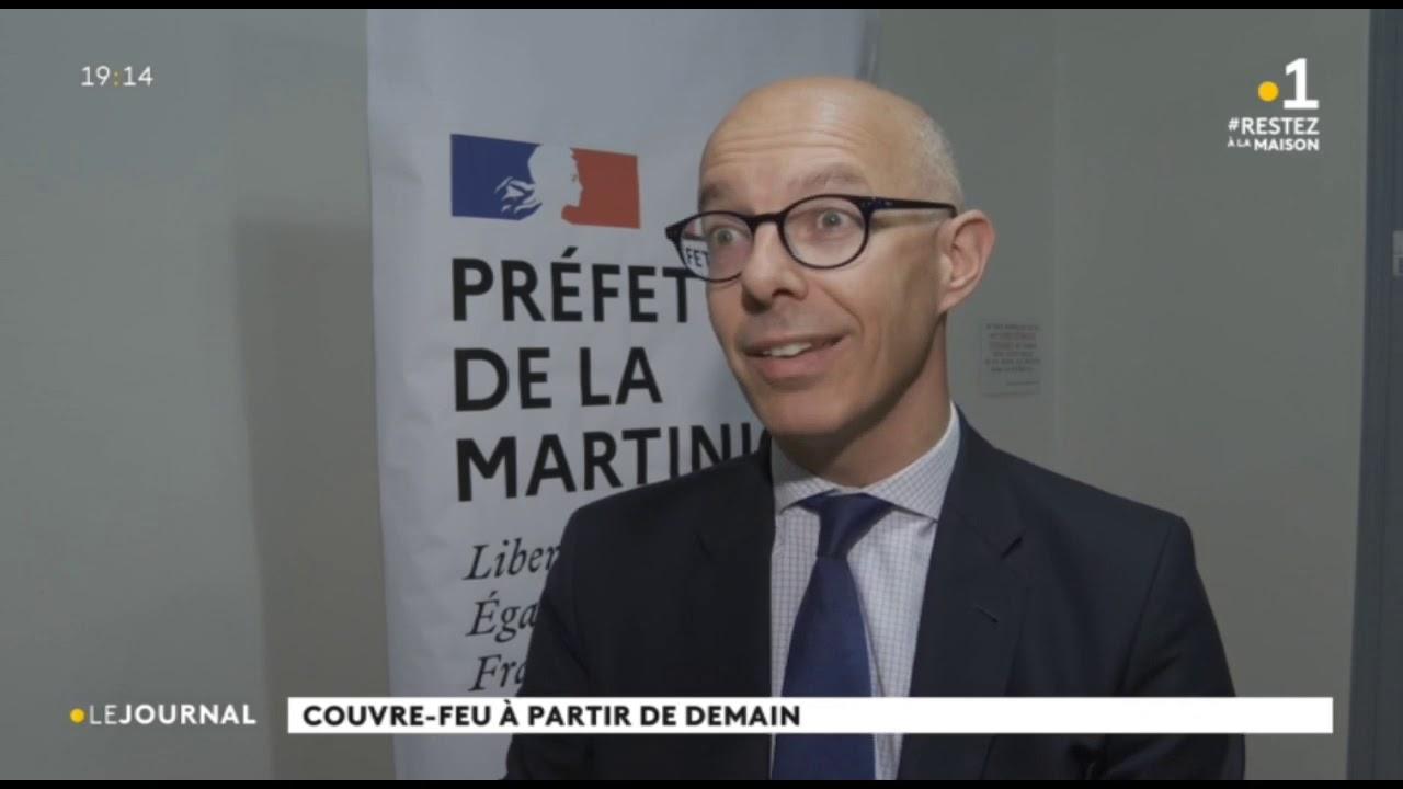 Coronavirus : couvre-feu sur toute la Martinique