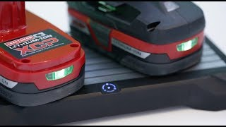 Flicharge wirelessly charges your power tools