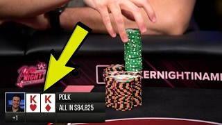 I Have $100,000 And POCKET KINGS on Poker Night In America!