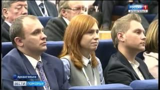 В Архангельске проходит строительный форум(Перспективы роста строительства обсудили сегодня на панельной дискуссии с губернатором предприниматели..., 2017-03-03T12:13:42.000Z)
