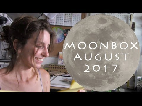 MOONBOX 🌕 Unboxing WITCHY Subscription Box - August 2017