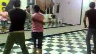 Ek pardesi mera dil le geya.remix (salsa basics) by Rockstar academy  chandigarh india