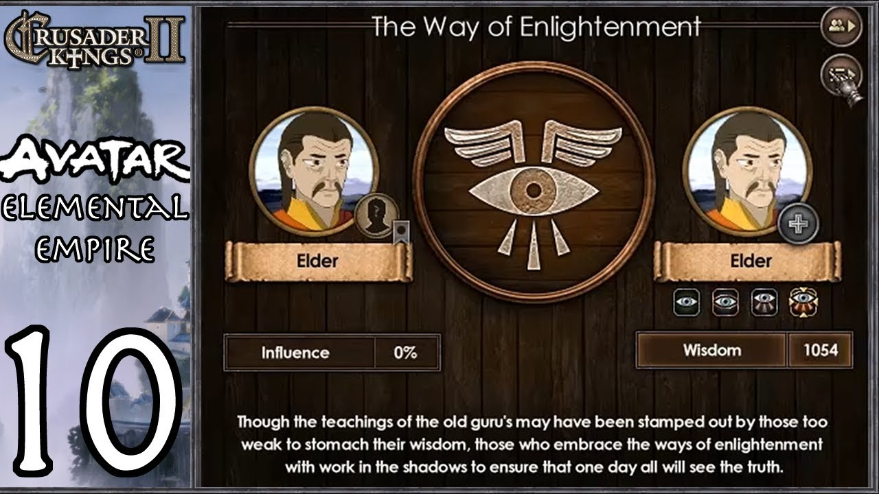 CK2: Avatar - Elemental Empire #10 - Hidden Airbender Cult