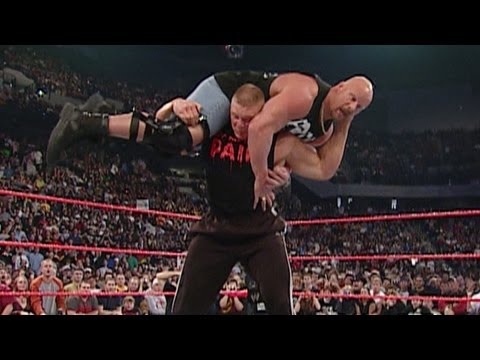 """Brock Lesnar attacks """"Stone Cold"""" Steve Austin from YouTube · Duration:  1 minutes 57 seconds"""