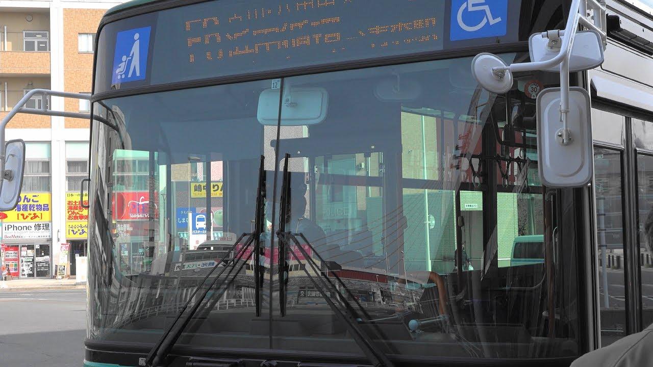 2018 路線バス 青森市営バス 浜田循環線 右回り 4K版 - YouTube