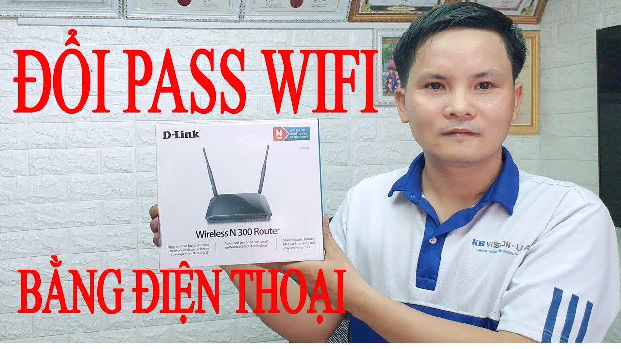 Cách đổi mật khẩu wifi Dlink DR612   192.168.0.1   Vi Tính Văn Cường