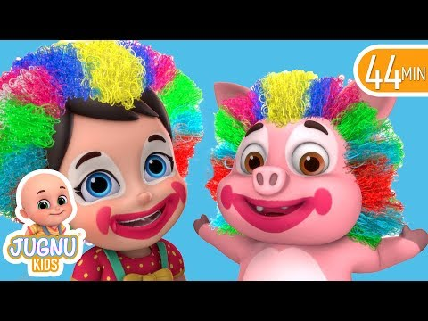 Chubby Cheeks Rhyme For Kids | Nursery Rhymes Collection And Baby Songs By Jugnu Kids