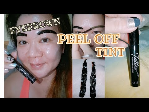 【SECRET KEY 】TATOO Eyebrow Tint pack / 【JY M H 】