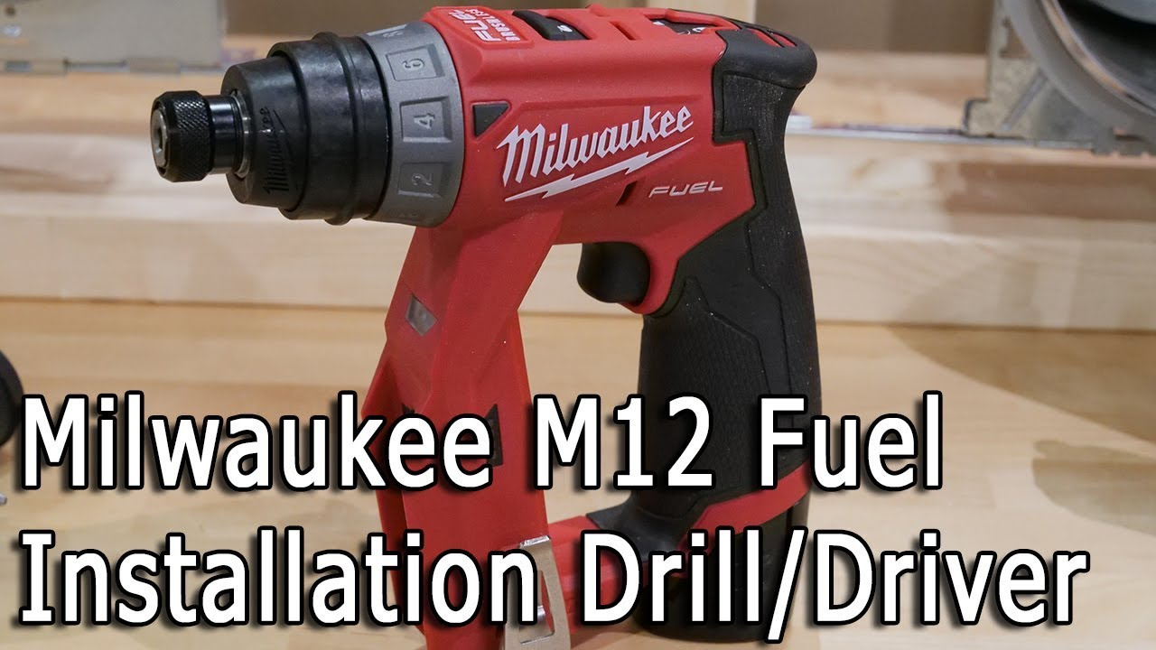 New Milwaukee M12 Fuel Cordless Installation Drill/Driver