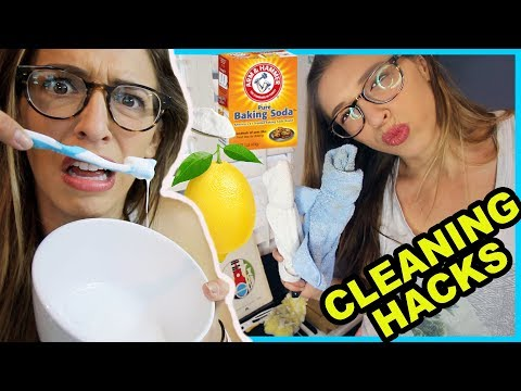 Testing Cleaning Hacks