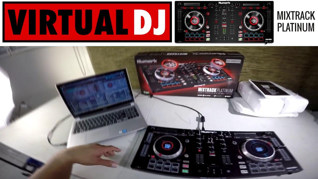 Đánh giá Mixtrack Platinum và chơi thử trên phần mềm Virtual DJ