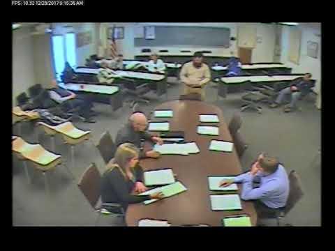 12-28-2017 Policy & Procedure Committee Meeting