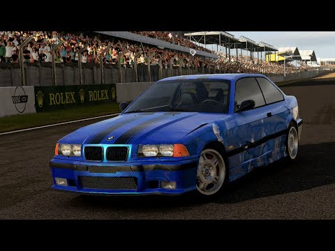 forza motorsport 5 bmw m3 e36 at le mans bugatti circuit. Black Bedroom Furniture Sets. Home Design Ideas