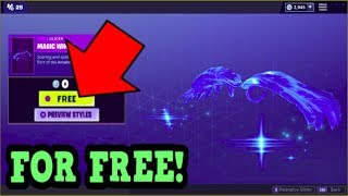 HOW TO GET MAGIC WINGS GLIDER FOR FREE! (Fortnite Old Gliders)