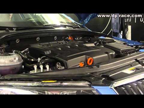 Skoda Octavia Combi 2.0 TDI (110 kW) 4x4 + Additional Control Unit - Dyno Run