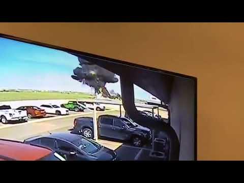 Small Engine Plane Crash at Laredo, Texas International Airport