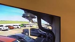 Small Engine Plane Crash at Laredo, Texas International Airport thumbnail