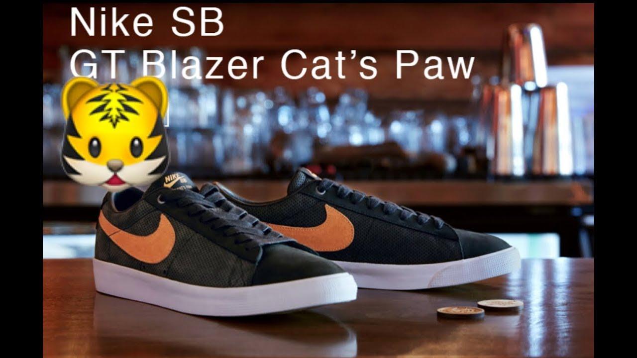 nike cat's paw