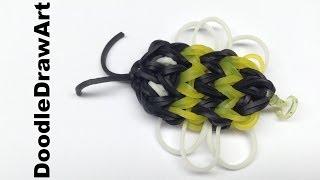 Craft:  Rainbow Loom Bumble Bee Charm - Step by Step Tutorial