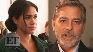 George Clooney Talks Meghan Markle, Pranking Nanny