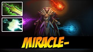 MIRACLE- INVOKER WITH ETHEREAL BLADE AND MJOLLNIR - Dota 2